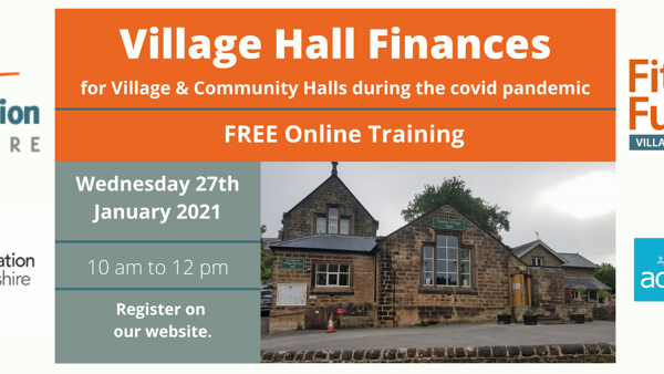 How to manage village hall finances