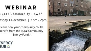 Rural Community Energy Fund Webinar